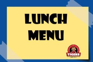 lunch menu banner